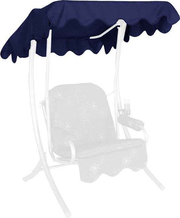 Angerer Hollywoodschaukel Dach Swingtex 100x145cm blau