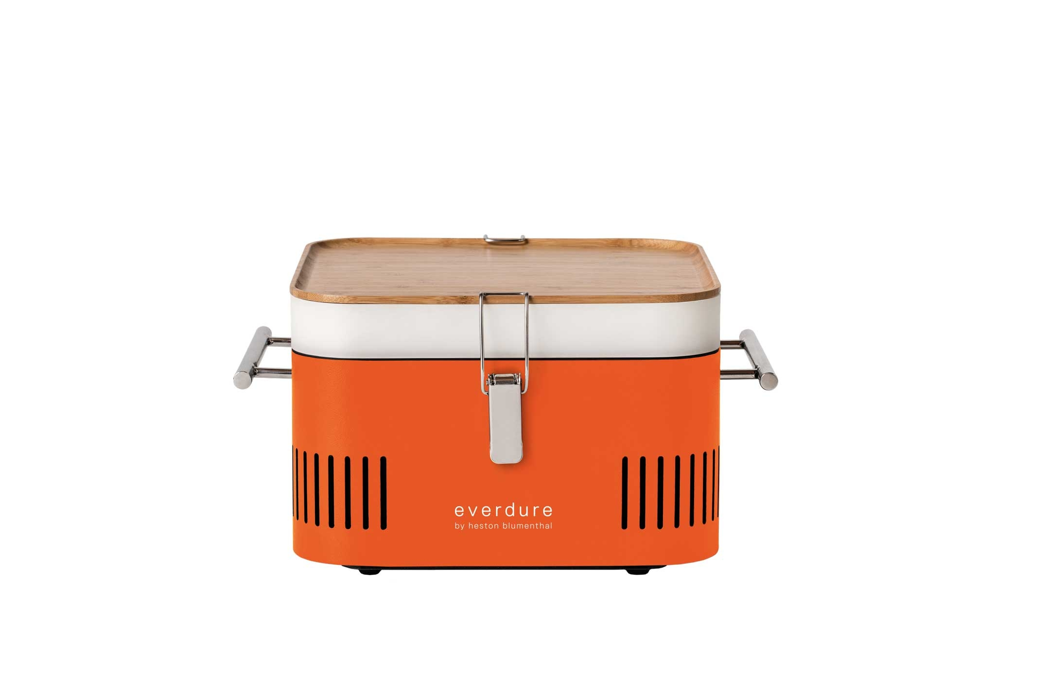 everdure CUBE - tragbarer Holzkohlegrill - orange