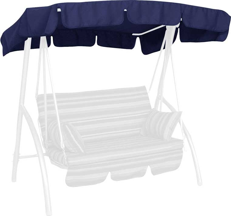 Angerer Hollywoodschaukel Dach Swingtex 160x145cm blau