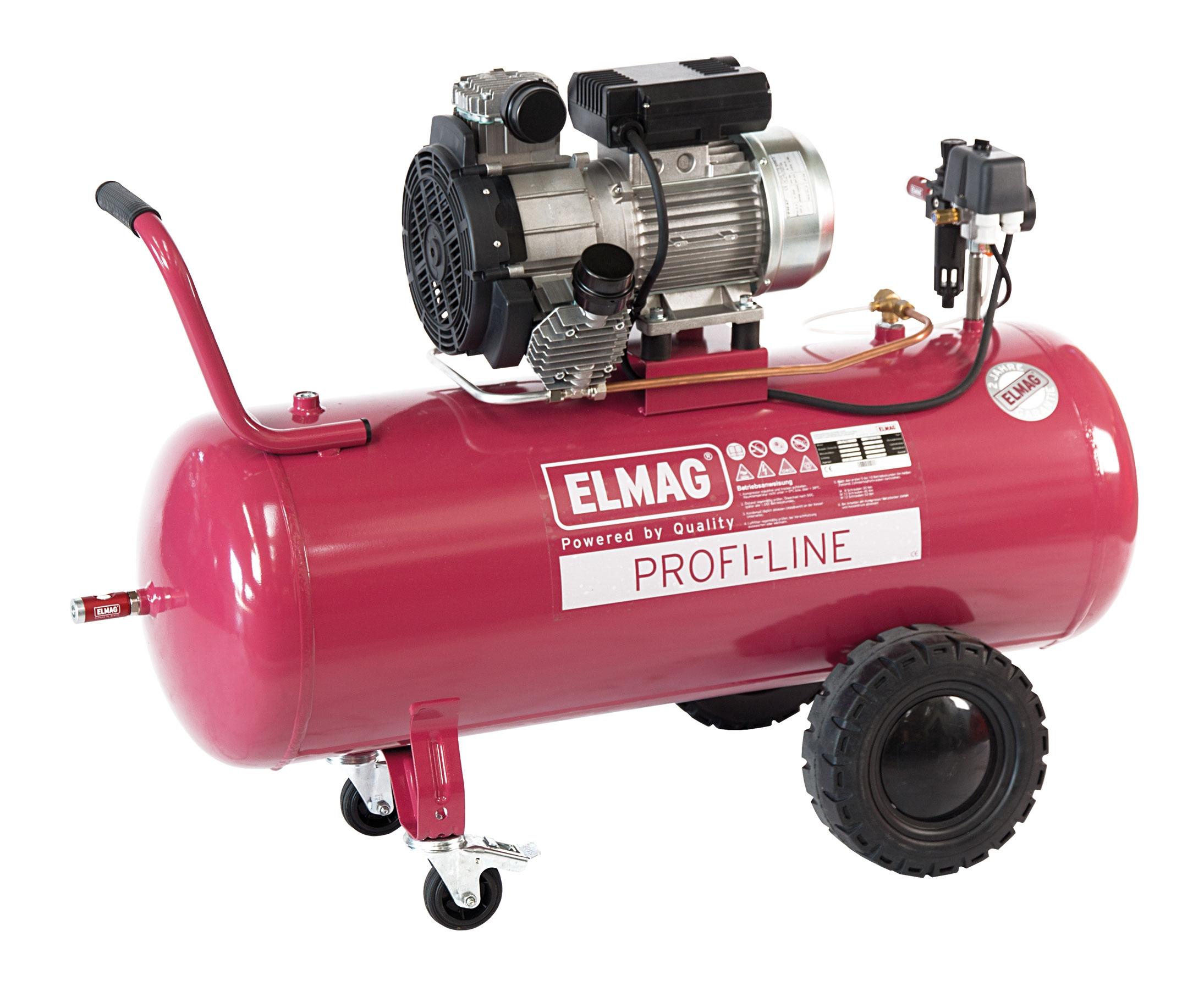 Elmag ölfreier Kompressor PROFI-LINE PL 330/10/100 W