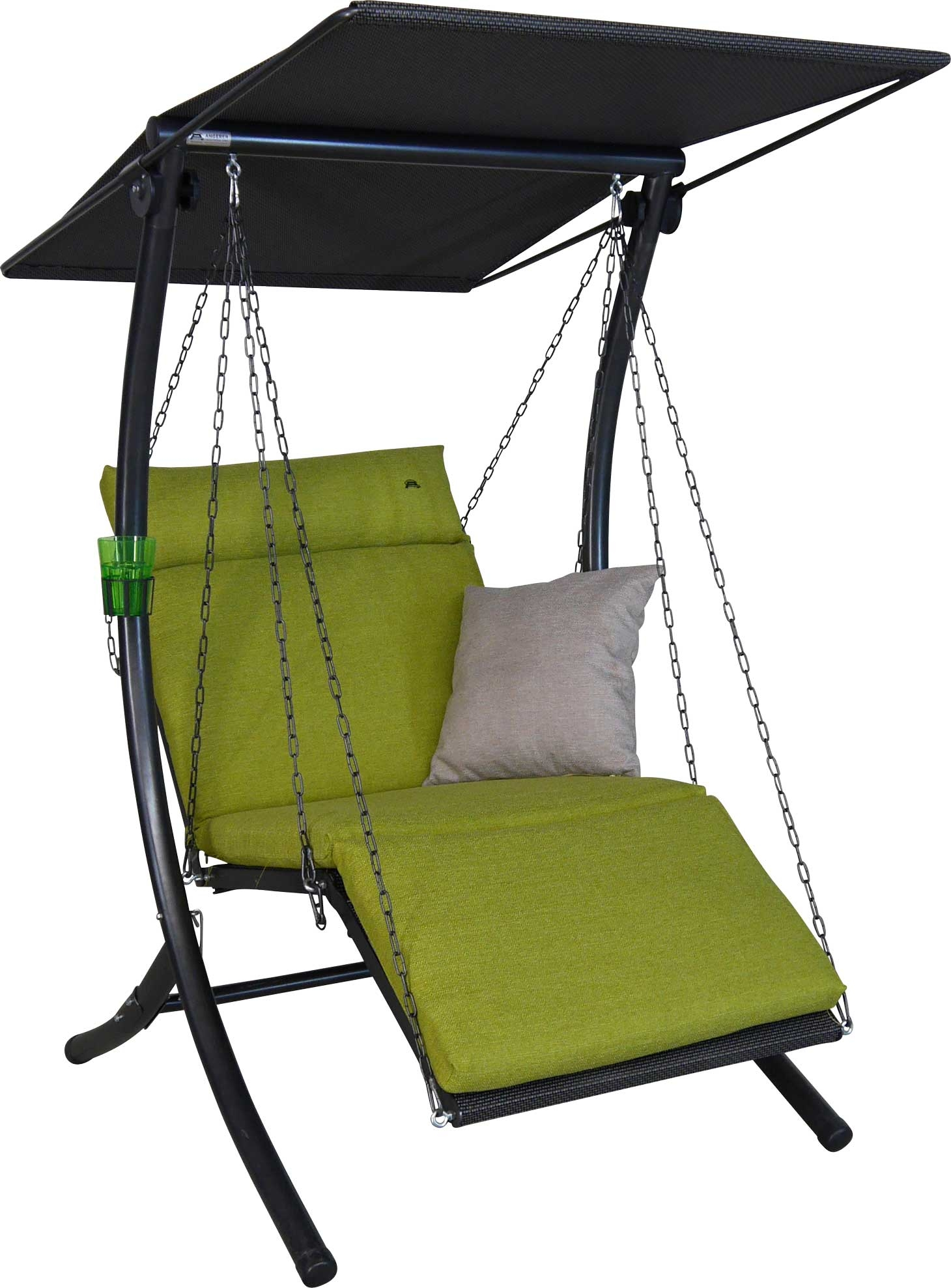Angerer Hollywoodschaukel 1-Sitzer Swing Smart lime