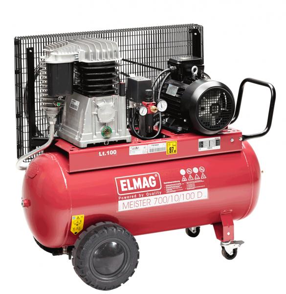 Elmag Kompressor MEISTER 700/10/100 D
