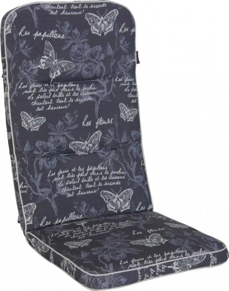 Angerer Stuhlauflage Hochlehner - Schmetterling