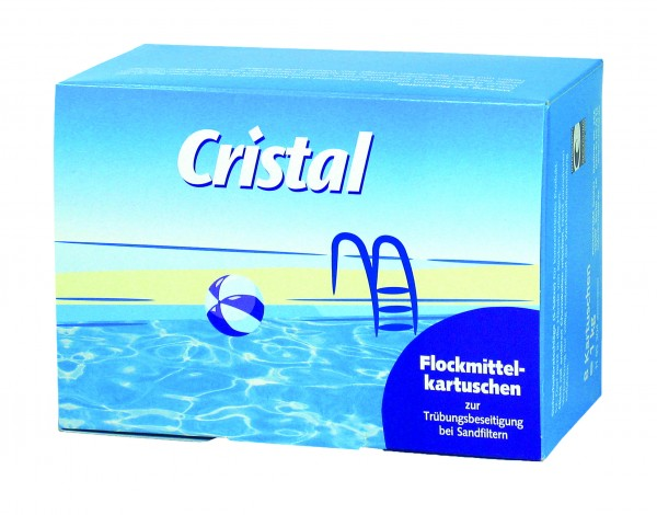 Cristal Flockmittelkartuschen 2er Set