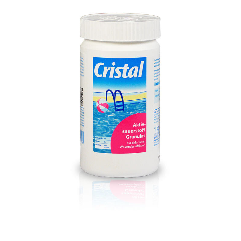 Cristal Aktivsauerstoff Granulat 1 kg