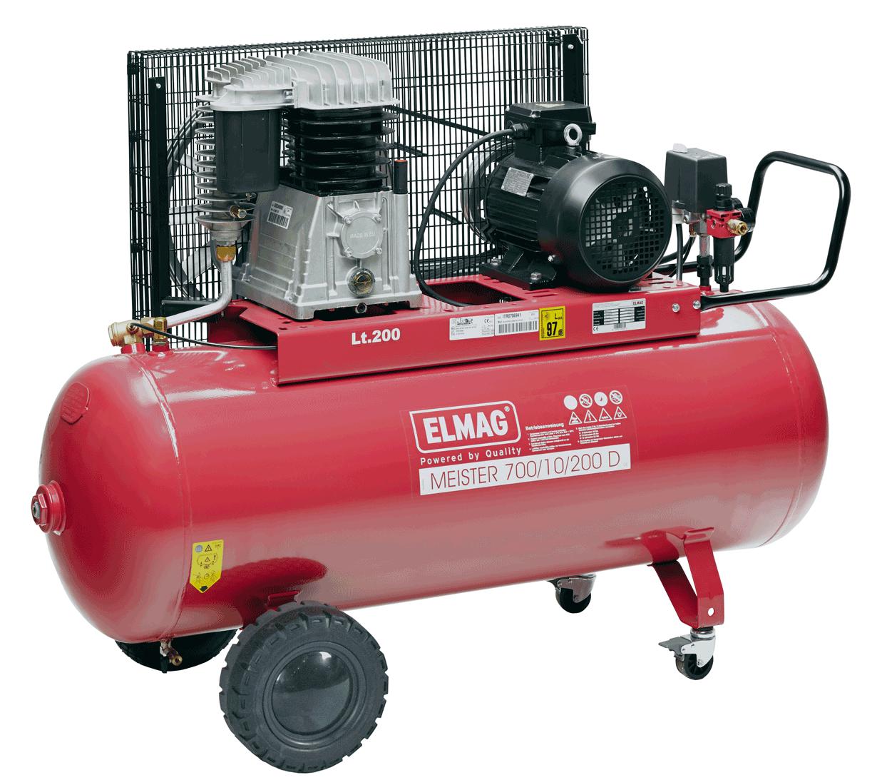Elmag Kompressor MEISTER 700/10/200 D