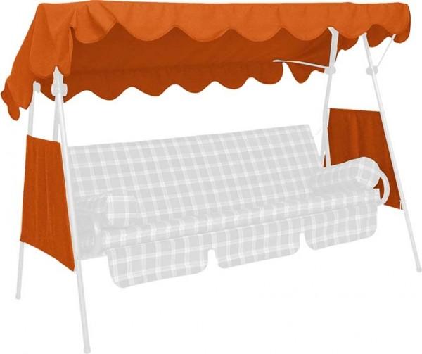 Angerer Hollywoodschaukel Dach PE-Gewebe 200x120cm terracotta