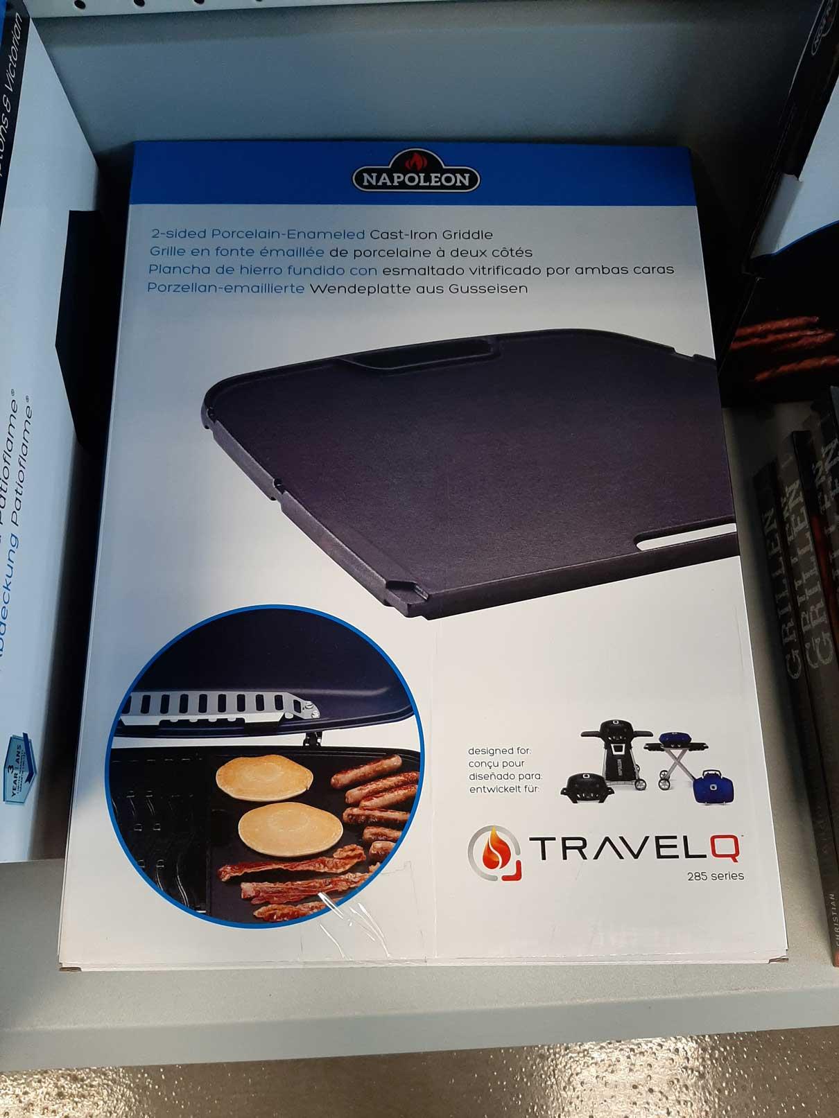 Napoleon Wendeplatte aus Gusseisen für TravelQ