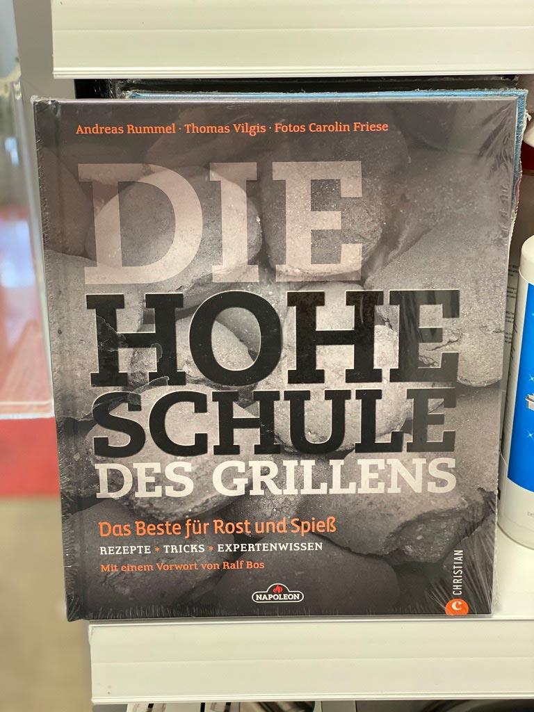 "Napoleon Grillbuch ""Die Hohe Schule des Grillens"""