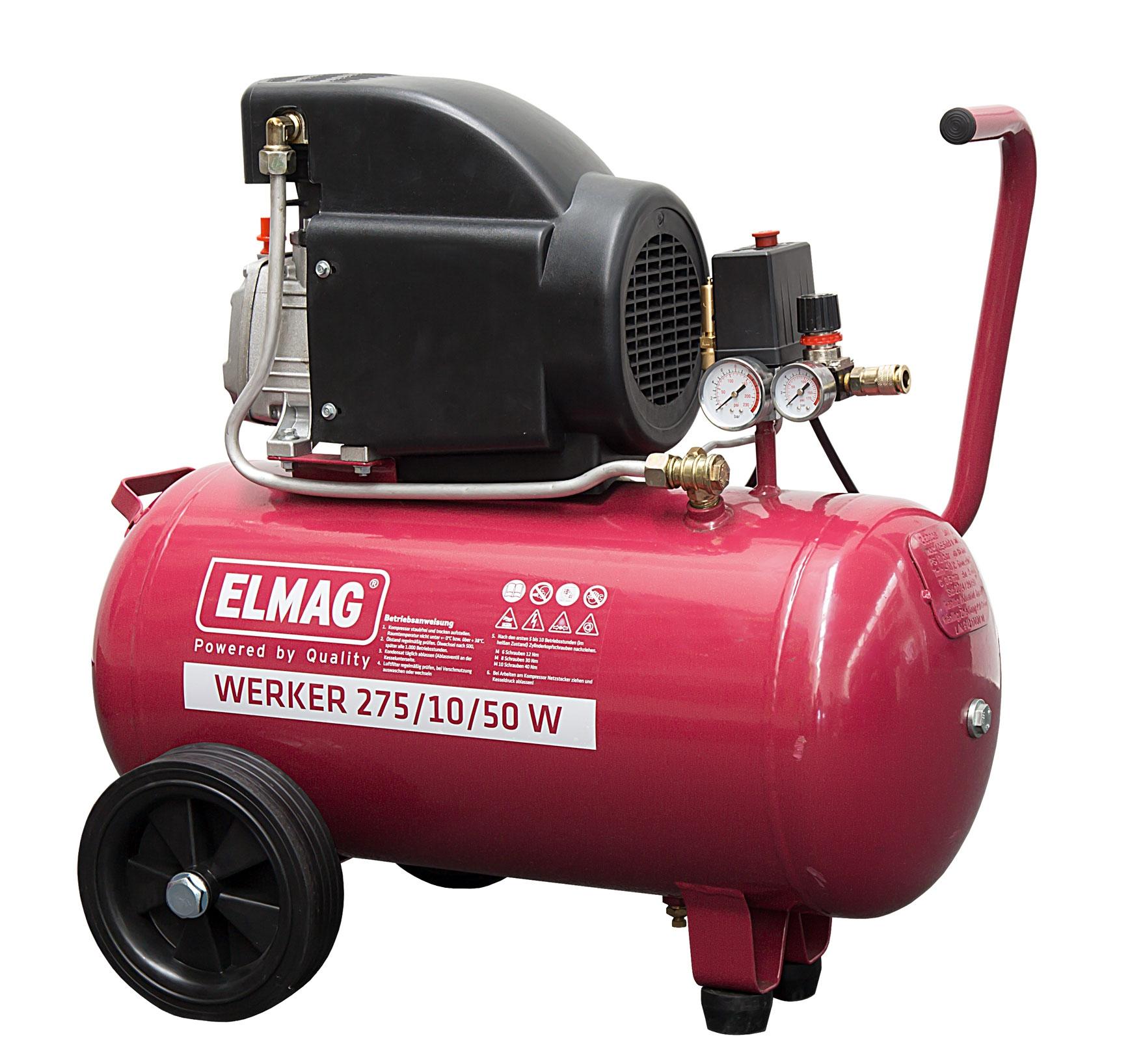 Elmag Kompressor WERKER 275/10/50 W